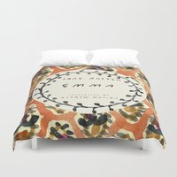 jane austen Duvet Covers featuring Remember Jane Austen (3) - Emma by MW. [by Mathius Wilder]