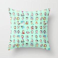 moonsia` Throw Pillow