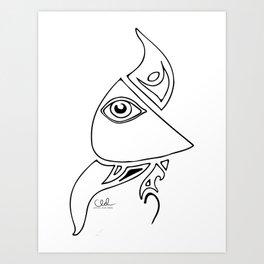 Watching Eye Art Print