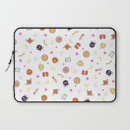 sailor moon pattern Laptop Sleeve