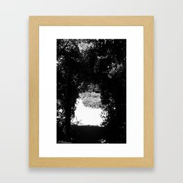 A Secret Garden Framed Art Print