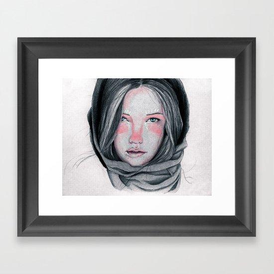 Tender Look Framed Art Print