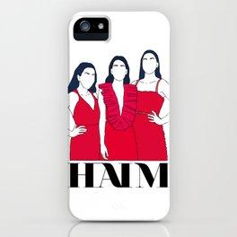 HAIM transparent iPhone Case
