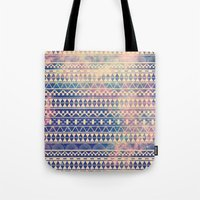 galaxy Tote Bags featuring Substitution by Mason Denaro