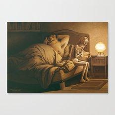 The other vampire / L'autre vampire Canvas Print
