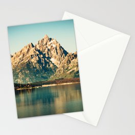 Mountain Lake Escape Stationery Cards