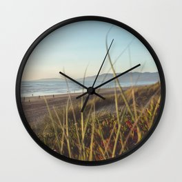 Beach Grass Wall Clock