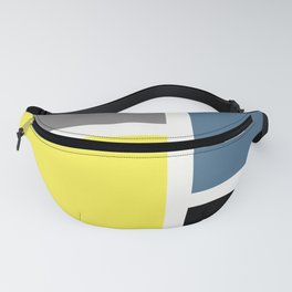 Colorful rectangles Fanny Pack