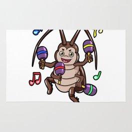 la cucaracha Rug