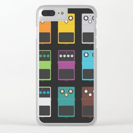 Guitar Effects Clear iPhone Case