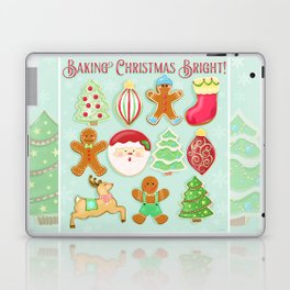 Baking Christmas Bright Laptop & iPad Skin