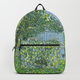 Klimt - Farmhouse in Upper Austria (new editing) Backpack