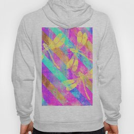 A Dragonflies and Stripes Hoody