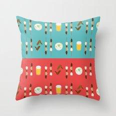 konomi - motsu Throw Pillow