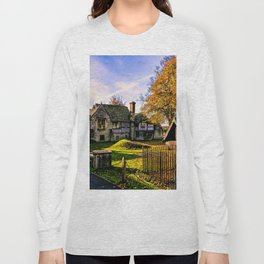 Almonry in Autumn Long Sleeve T-shirt