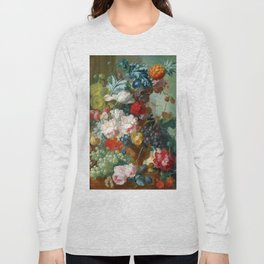 "Jan van Os ""Fruit and Flowers in a Terracotta Vase"" Long Sleeve T-shirt"