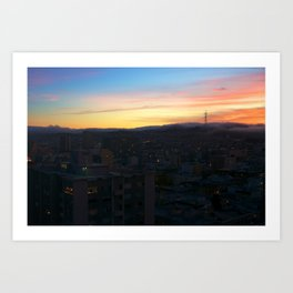 Sutro San Francisco Art Print