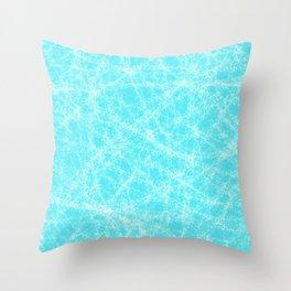 Robin Egg Blue Pattern Throw Pillow