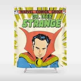Dr.Iker Strange Shower Curtain