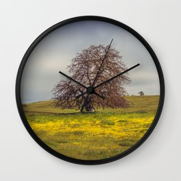 Backroad Beauty Wall Clock