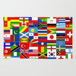 Flag Montage Rug