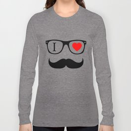 I Love Hipster Long Sleeve T-shirt