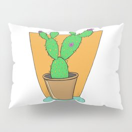 Cacti with Flowers Pillow Sham