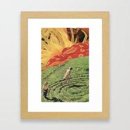 Round And Round Framed Art Print