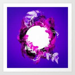 In Circle - III Art Print
