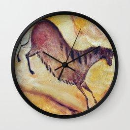 Horse a la Altamira Wall Clock