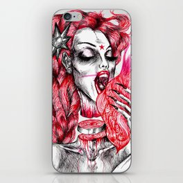 Thelma On Fire iPhone Skin