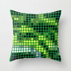 Mr Green 2 Throw Pillow