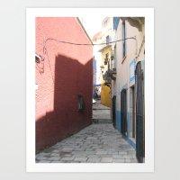 Passage No. 4 in Guanajuato, Mexico (2005) Art Print