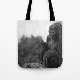 Asante The Western Lowland Gorilla Tote Bag