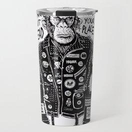 punk is not dead Travel Mug