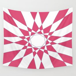 Red Crystal Wall Tapestry