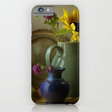 Sunflowers and blue vase Slim Case iPhone 6s