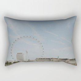 London Eye Rectangular Pillow