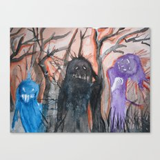 Monsters, We Canvas Print