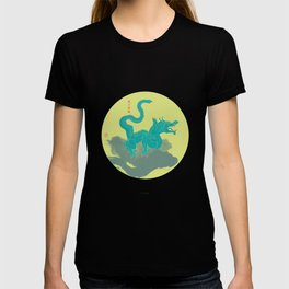Azure Dragon of the East T-shirt