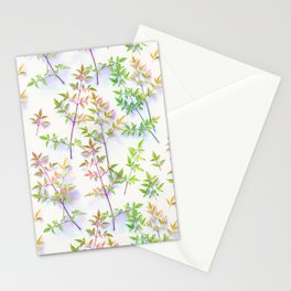 Leaves in the Light Stationery Cards