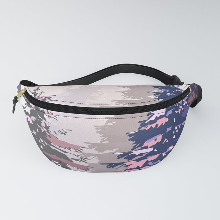 Pine trees Fanny Pack