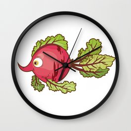 Beet Wall Clock