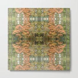 Autumnal Pattern Metal Print