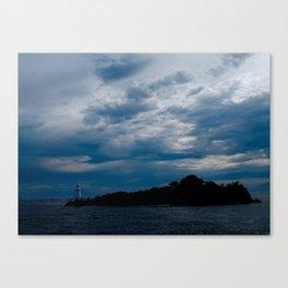 Lighthouse Storm Canvas Print
