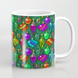 Tie Dye Holiday Ornaments Coffee Mug