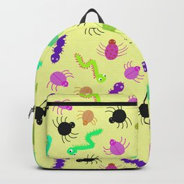 Crawlies - Yellow Backpack