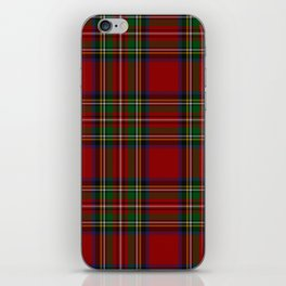 Royal Stewart Tartan Clan iPhone Skin