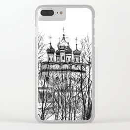 Iossifo-Volotsky Monastery SK02P Clear iPhone Case