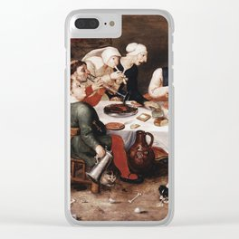 Hieronymus Bosch -  The Bacchus Singers Clear iPhone Case